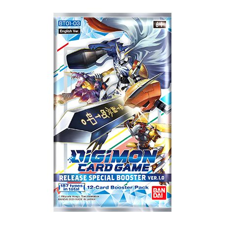 Digimon Card Game 1 booster BT01-03 Special Ver.1.0