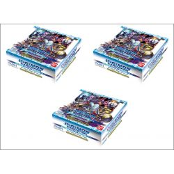Digimon Card Game 3x Display (24 boosters) BT01-03 Special Ver.1.0