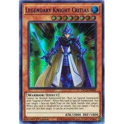 YGO DLCS-EN002 Legendary Knight Critias
