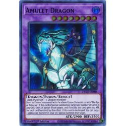 YGO DLCS-EN005 Dragon Amulette (Green)  / Amulet Dragon (Green)