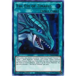 YGO DLCS-EN007 L'Œil de Timée (Green)  / The Eye of Timaeus (Green)