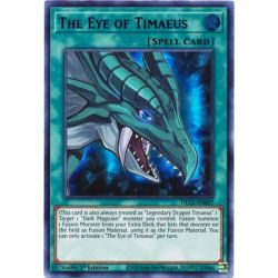YGO DLCS-EN007 L'Œil de Timée (Purple)  / The Eye of Timaeus (Purple)