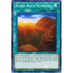 YGO DLCS-EN022 Ayers Rock Sunrise