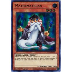 YGO DLCS-EN025 Mathématicien (Purple)  / Mathematician (Purple)