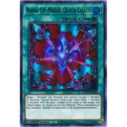 YGO DLCS-EN044 Chaos Rapide Magie-Rang-Plus (Blue)  / Rank-Up-Magic Quick Chaos (Blue)