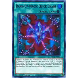 YGO DLCS-EN044 Chaos Rapide Magie-Rang-Plus (Green)  / Rank-Up-Magic Quick Chaos (Green)