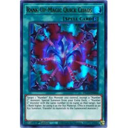 YGO DLCS-EN044 Chaos Rapide Magie-Rang-Plus (Purple)  / Rank-Up-Magic Quick Chaos (Purple)