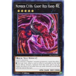 YGO DLCS-EN051 Number C106: Giant Red Hand