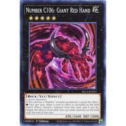 YGO DLCS-EN051 Numéro C106 : Main Rouge de Géant  / Number C106: Giant Red Hand