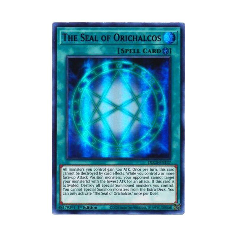 YuGiOh The Seal Of Orichalcos DLCS-EN137 Purple Ultra Rare 1st Edition TCG Card