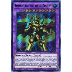 YGO DLCS-EN054 Timaeus the Knight of Destiny (Green)
