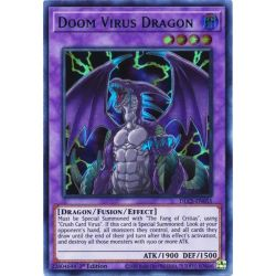 YGO DLCS-EN055 Doom Virus Dragon (Blue)
