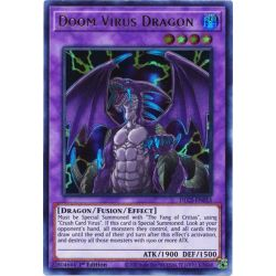 YGO DLCS-EN055 Dragon du Virus Maudit (Green)  / Doom Virus Dragon (Green)