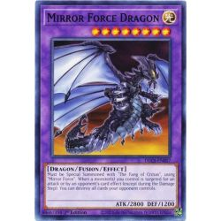 YGO DLCS-EN057 Mirror Force Dragon