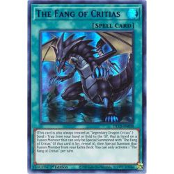 YGO DLCS-EN058 Le Croc de Critias  / The Fang of Critias