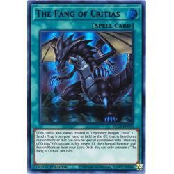 YGO DLCS-EN058 Le Croc de Critias (Green)  / The Fang of Critias (Green)