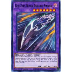 YGO DLCS-EN063 Épée de Dragon Noir aux Yeux Rouges  / Red-Eyes Black Dragon Sword
