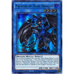 YGO DLCS-EN069 Paladin du Dragon Noir (Blue)  / Paladin of Dark Dragon (Blue)
