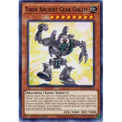 YGO DLCS-EN073 Golem Rouages Ancients Toon  / Toon Ancient Gear Golem