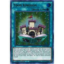 YGO DLCS-EN074 Toon Kingdom (Blue)