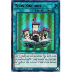 YGO DLCS-EN074 Royaume Toon (Green)  / Toon Kingdom (Green)