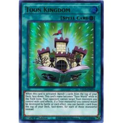 YGO DLCS-EN074 Royaume Toon (Purple)  / Toon Kingdom (Purple)