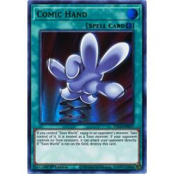 YGO DLCS-EN077 Main Comique (Green)  / Comic Hand (Green)