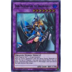 YGO DLCS-EN006 Magicienne des Ténèbres le Dragon Chevalier (Blue)  / Dark Magician Girl the Dragon Knight (Blue)