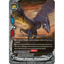 BFE S-UB06/0024EN Foil/R Indigo Dragon, Predegarius
