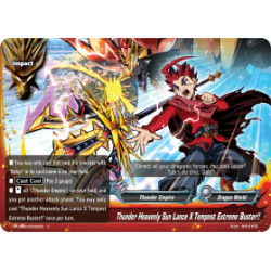 BFE S-UB06/0042EN Foil/U Thunder Heavenly Sun Lance X Tempest Extreme Buster!!