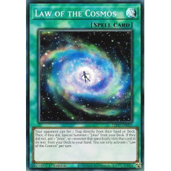 YGO LED7-EN035 Law of the Cosmos