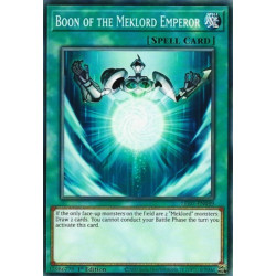YGO LED7-EN049 Boon of the Meklord Emperor