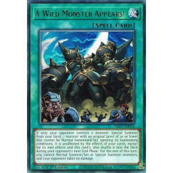 YGO LED7-EN052 Un Monstre Sauvage Apparaît !  / A Wild Monster Appears!