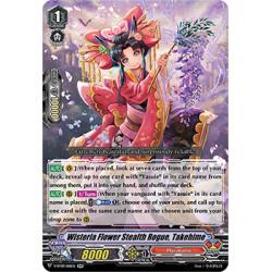 CFV V-BT09/018EN RR Wisteria Flower Stealth Rogue, Takehime