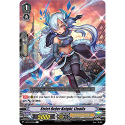 CFV V-BT10/033EN R Strict Order Knight, Lluails