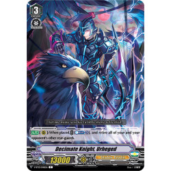 CFV V-BT10/048EN C Decimate Knight, Urheged