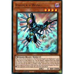 YGO PHRA-EN001 UR Raider's Wing
