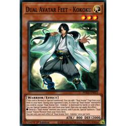 YGO PHRA-EN015 SuR Dual Avatar Feet - Kokoku