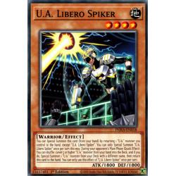 YGO PHRA-EN018 C U.A. Libero Spiker