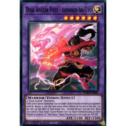 YGO PHRA-EN032 SuR Dual Avatar Fists - Armored Ah-Gyo