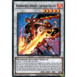 YGO PHRA-EN038 SuR Capitaine Oliver, Chevalier Noble Inferno  / Infernoble Knight Captain Oliver