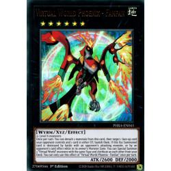 YGO PHRA-EN043 UR Virtual World Phoenix - Fanfan