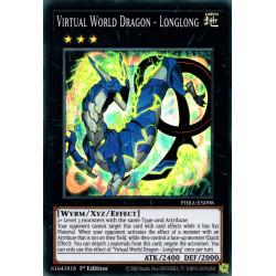 YGO PHRA-EN098 SuR Virtual World Dragon - Longlong