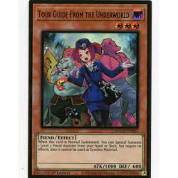 YGO MAGO-EN007 Gold Rare Tour Guide From the Underworld V2