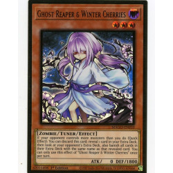 YGO MAGO-EN010 Gold Rare Ghost Reaper & Winter Cherries