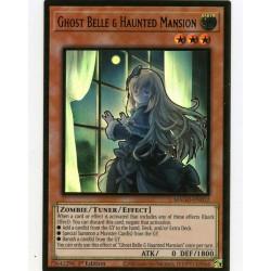 YGO MAGO-EN012 Gold Rare Ghost Belle & Haunted Mansion