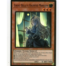 YGO MAGO-EN012 Gold Rare Ghost Belle & Haunted Mansion