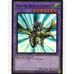 YGO MAGO-EN025 Gold Rare Gaia the Dragon Champion