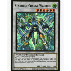 YGO MAGO-EN029 Gold Rare Stardust Charge Warrior