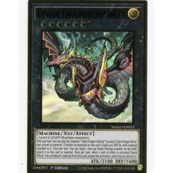 YGO MAGO-EN033 Gold Rare Cyber Dragon Infinity V2